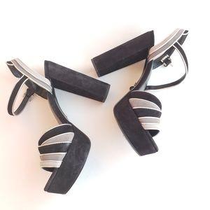 Michael Michael Kors block heel sandals 7.5